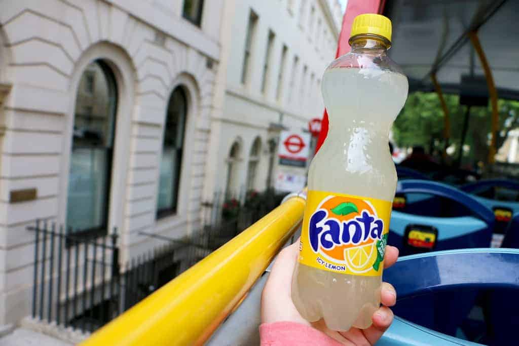 "Fanta ""Icy Lemon"" - London"
