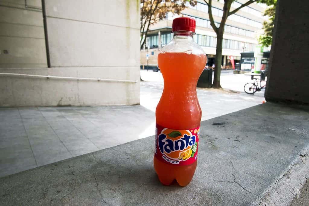 """Fanta """"Fruit Twist"""" - London"""