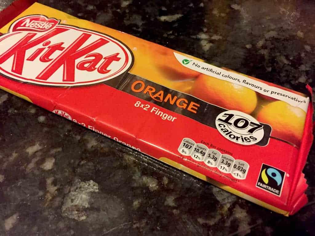 """KitKat """"Orange"""" - Hong Kong"""