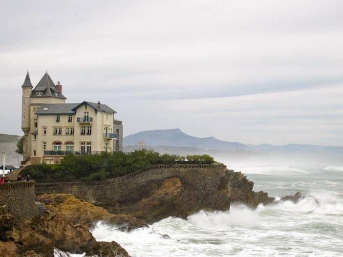 Biarritz mansion