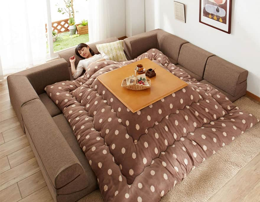 Best Kotatsu Table – The Japanese Heated Table with Blanket