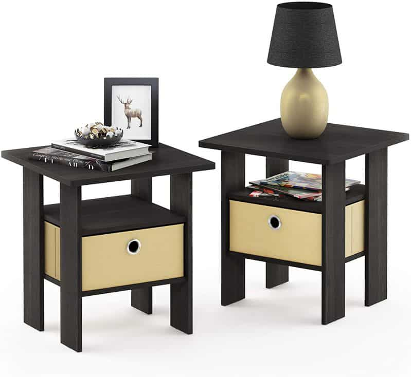 Furinno End Table Bedroom Japanese Home Décor