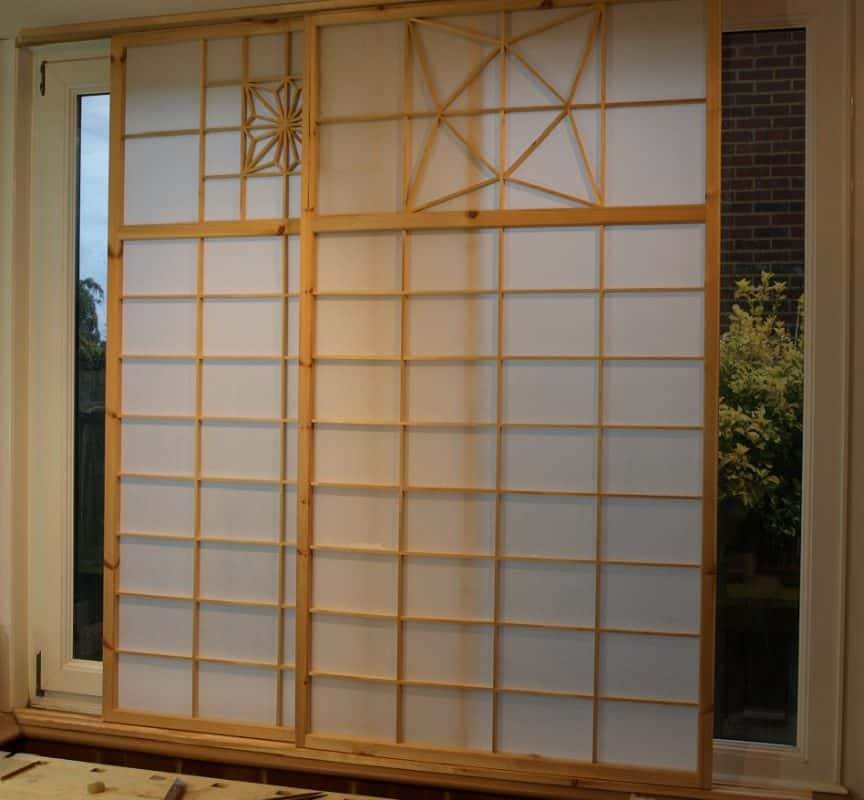 How to Make Shoji Screen Sliding Doors?