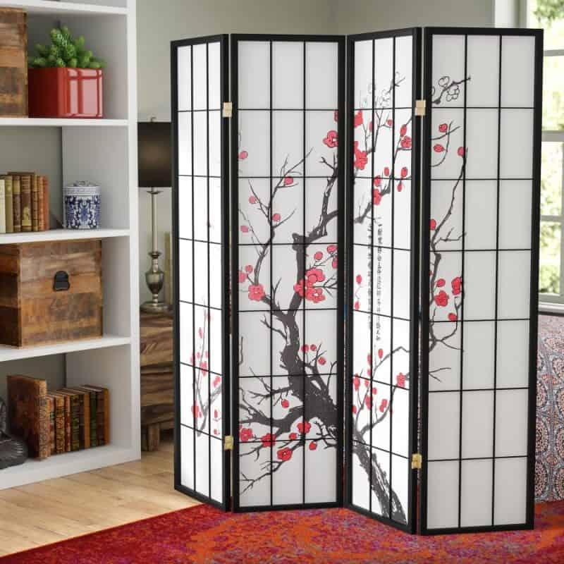 Japanese Shoji Screen Room Divider - Japanese Privacy Screen