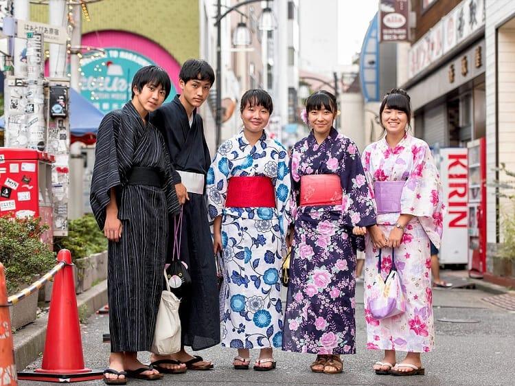 Traditional Japanese Yukata