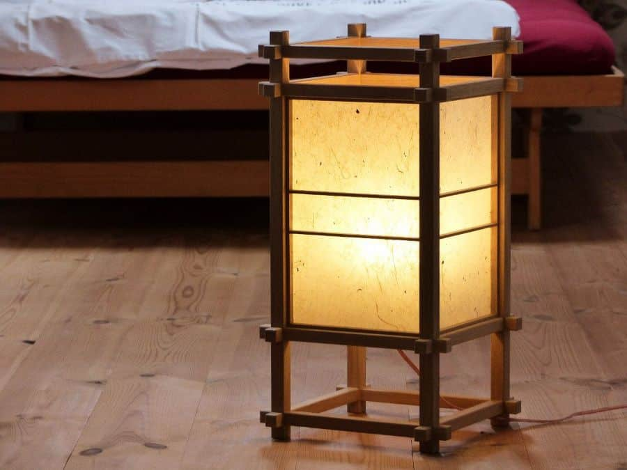 Japanese Shoji Lamps - The Rice Paper Table & Floor Lamps