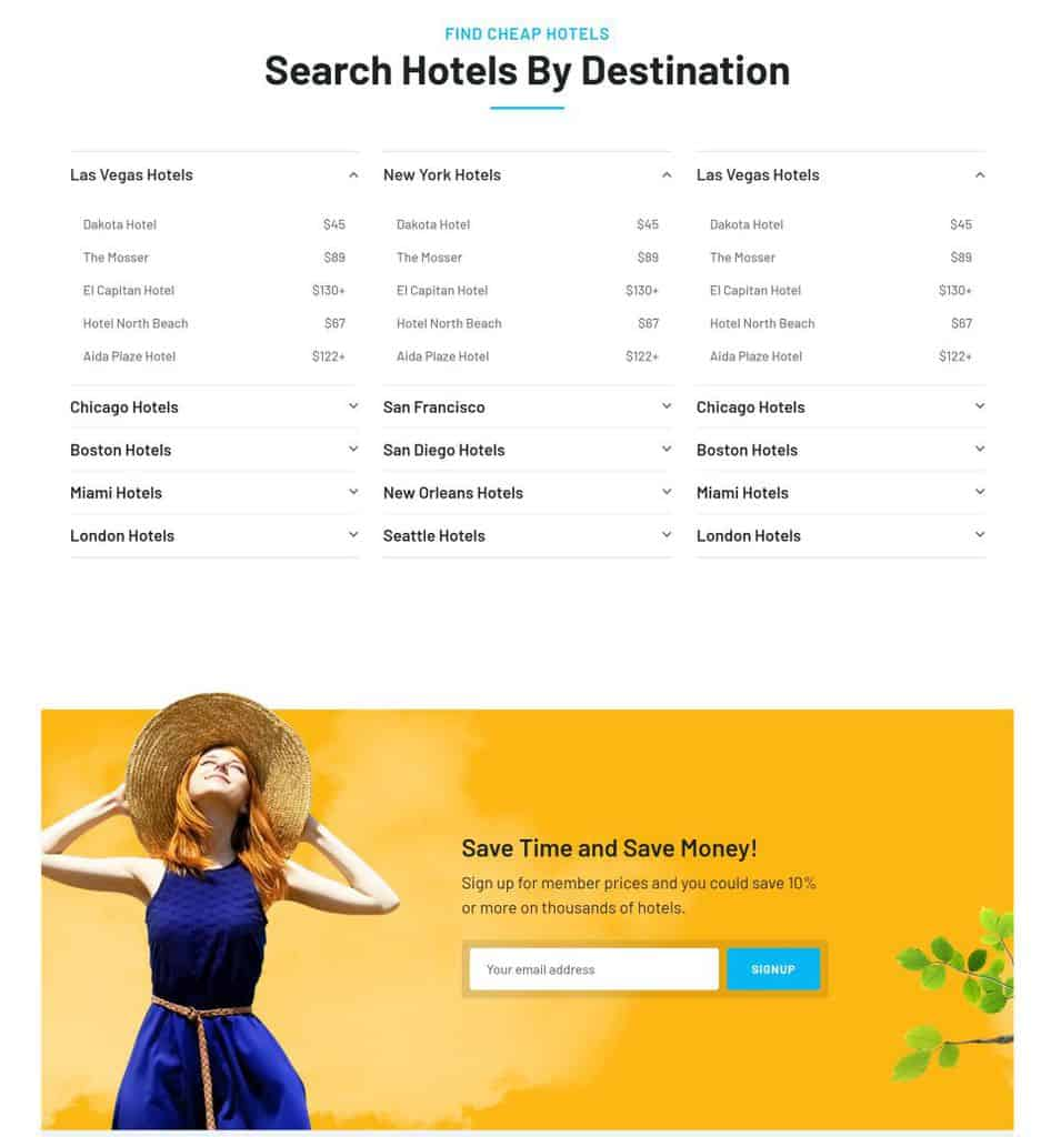 Travelo Theme - Travel/Tour Booking Responsive WordPress Theme