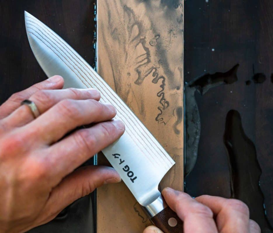 How to Sharpen a Japanese Gyuto Knife?
