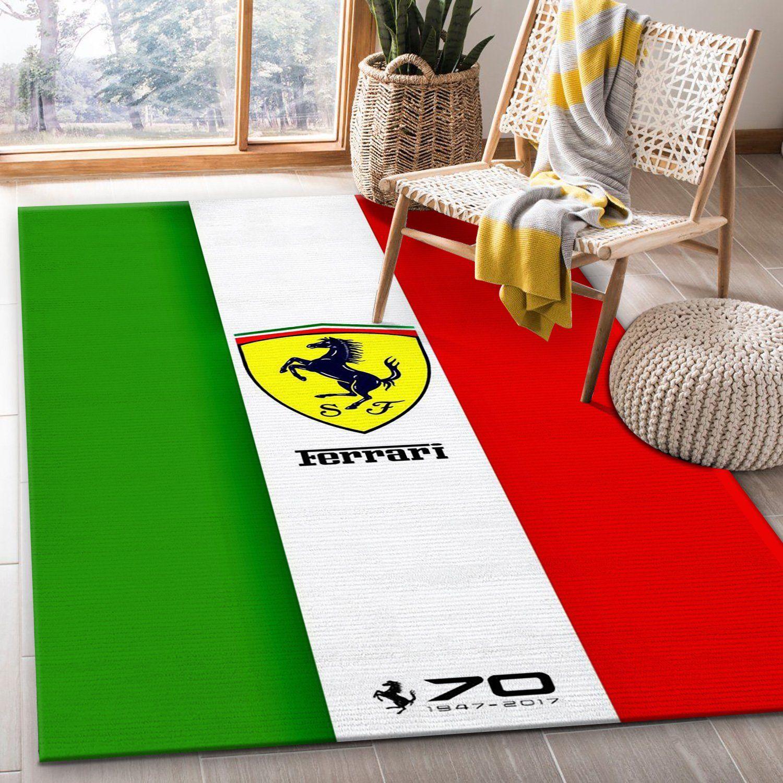 Ferrari Area Rug Living Room Christmas Gift Us Decor Travels In Translation