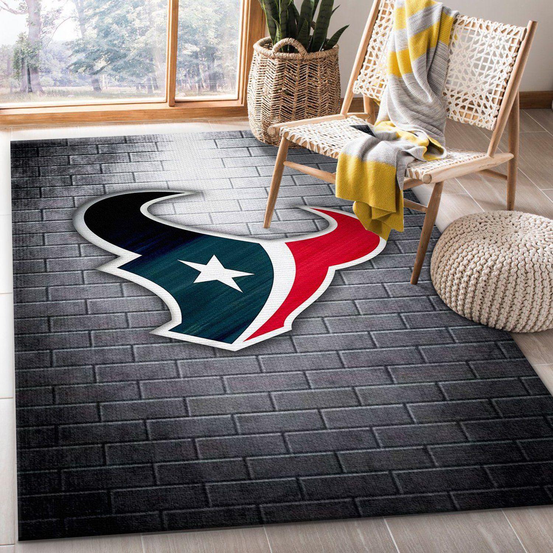 Houston Texans Nfl Area Rug Bedroom Rug Christmas Gift Us Decor Travels In Translation
