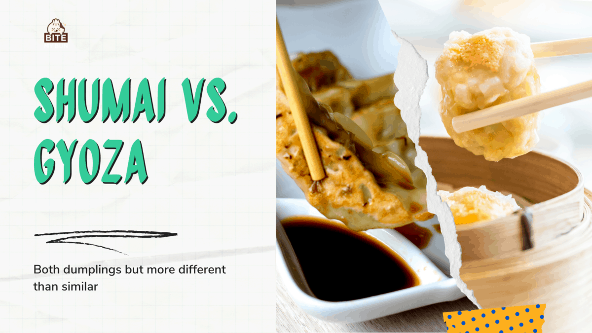 What Is the Difference Between Shumai Vs Gyoza?